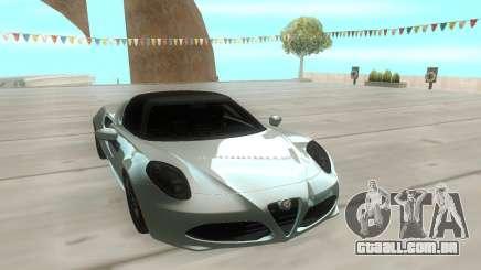 Alfa Romeo 4C 15 para GTA San Andreas