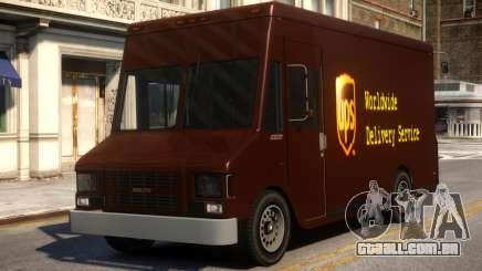 UPS Boxville para GTA 4