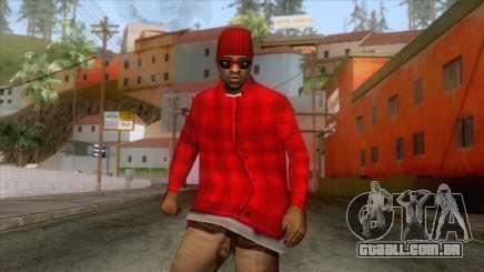 Crips & Bloods Ballas Skin 5 para GTA San Andreas