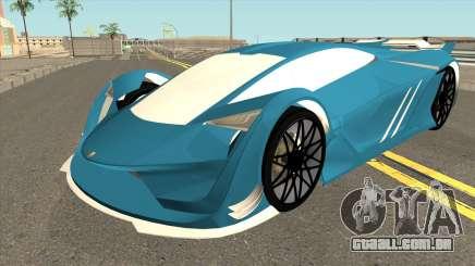 Pegassi Tezeract GTA V para GTA San Andreas