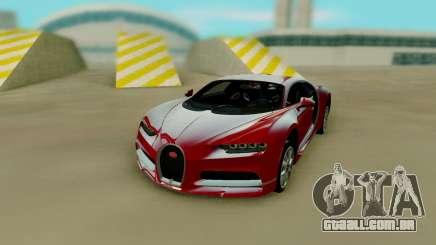 Bugatti Chiron Red para GTA San Andreas