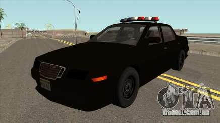 O carro de Polícia do 2º Nível de Rastreamento de NFS MW v2 para GTA San Andreas