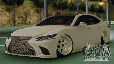 Lexus LS500 para GTA San Andreas