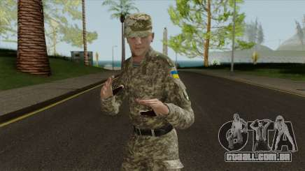 Um Oficial Das Forças Armadas Da Ucrânia para GTA San Andreas