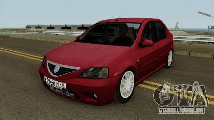 Dacia Logan 2007 para GTA San Andreas
