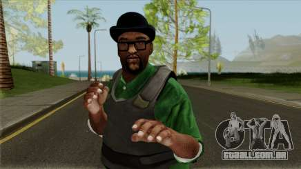 Big Smoke Vest Skin (Legacy Version) para GTA San Andreas