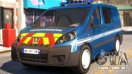 Peugeot Expert Gendarmerie 2017 para GTA 4