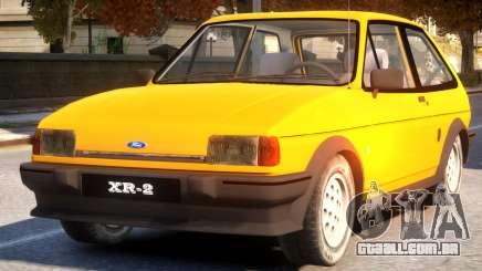 1984 Ford Fiesta XR2 para GTA 4