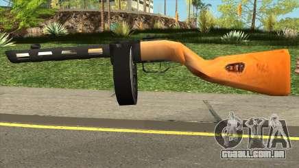 PPSH-41 LowPoly para GTA San Andreas