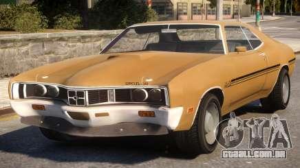 1970 Mercury Cyclone Spoiler para GTA 4