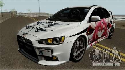 Mitsubishi Lancer Evolution X Date A Live para GTA San Andreas