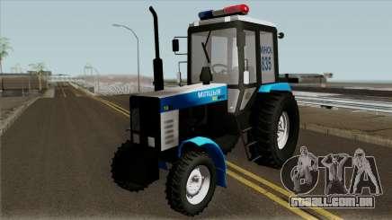 MTZ-80 Bielorrússia Polícia para GTA San Andreas