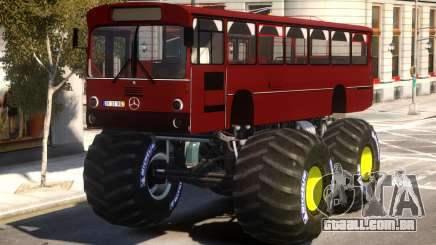 Bus Monster Truck V2 para GTA 4