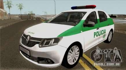 Renault Logan Policia Colombia para GTA San Andreas