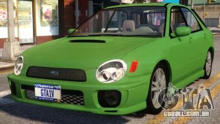 2006 Subaru Impreza WRX Wagon para GTA 4
