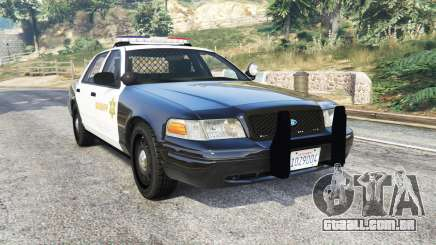Ford Crown Victoria Sheriff CVPI [replace] para GTA 5