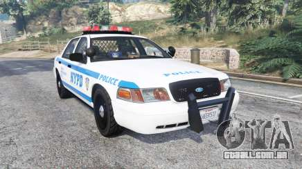 Ford Crown Victoria NYPD CVPI v1.1 [replace] para GTA 5