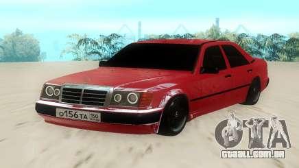 Mercedes-Benz W124 220E Red para GTA San Andreas