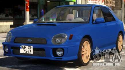 Subaru Impreza STi Wagon para GTA 4