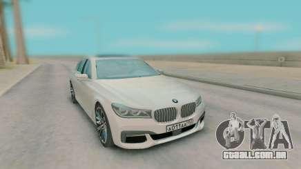 BMW 7-er G11 2015 para GTA San Andreas