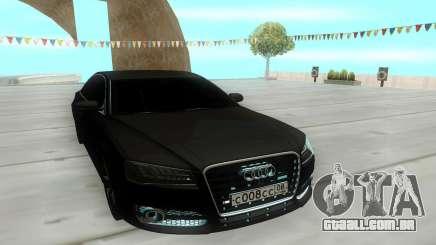 Audi S8L 2015 para GTA San Andreas