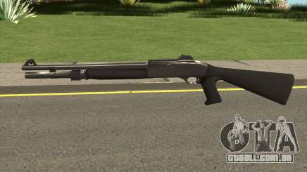 Shotgun Grey Chrome para GTA San Andreas