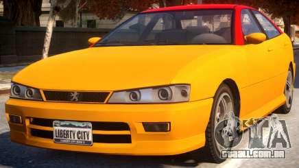 Chavos To Peugeot 406 para GTA 4