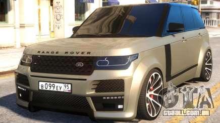 Range Rover Vogue Tuning para GTA 4