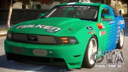 Mustang Vaughn Gittin para GTA 4