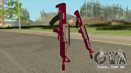 Bullpup Rifle Pink GTA V para GTA San Andreas
