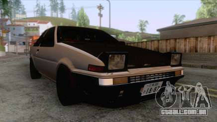 Toyota AE86 Coupe Touge Style para GTA San Andreas
