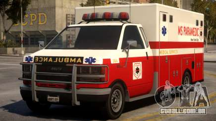 Ambulance Real New York para GTA 4