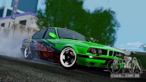 BMW E34 Evil Empire Team para GTA San Andreas