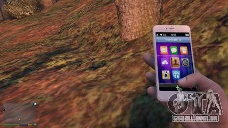 iPhone 6 Gold Michael para GTA 5