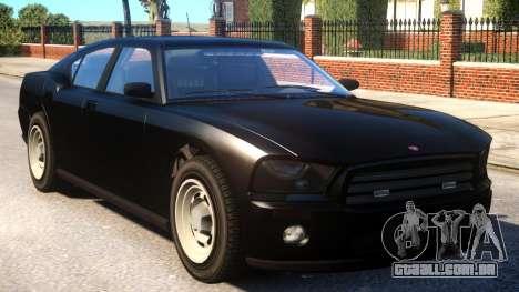 GTA V FIB Buffalo [ELS] para GTA 4