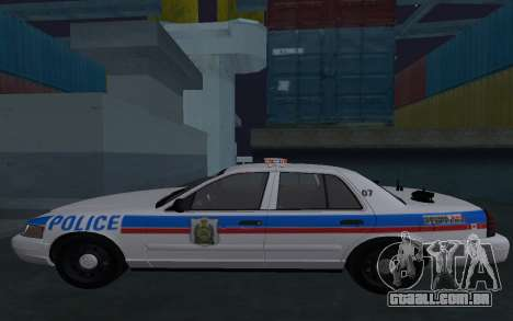Saskatoon Ford Crown Victoria Interceptor para GTA San Andreas
