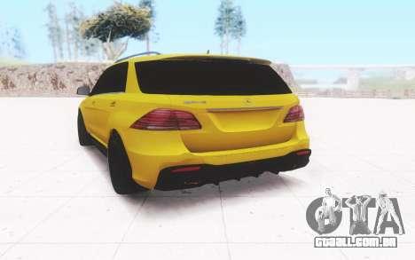Mercedes-Benz GLE 63 AMG Wagon para GTA San Andreas