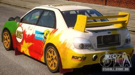 Subaru Impreza WRX V1.3 para GTA 4