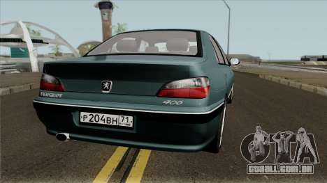 Peugeot 406 para GTA San Andreas vista direita