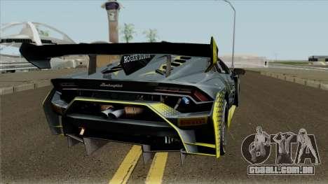 Lamborghini Huracan Super Trofeo EVO 2018 para GTA San Andreas