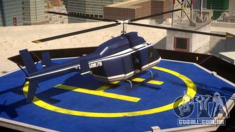Police Helicopter New York para GTA 4