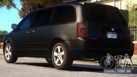 Dodge Caravan 2008 U.S Marshals para GTA 4
