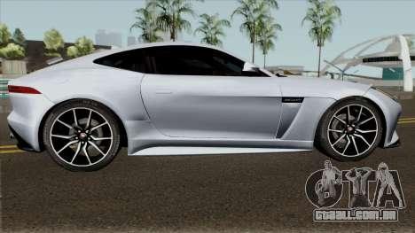 Jaguar F-Type SVR para GTA San Andreas