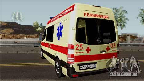Mercedes-Benz Sprinter Ambulance para GTA San Andreas