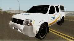 Nissan Navara Pickup Telekom Malaysia para GTA San Andreas