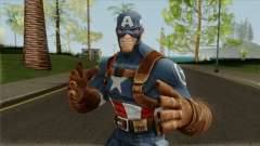 Marvel Contest of Champions WW2 Captain America para GTA San Andreas