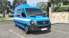 Mercedes-Benz Sprinter Ambulance [add-on] para GTA 5