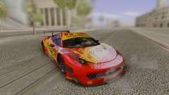 2014 Ferrari 458 Italia GT3 DTM para GTA San Andreas