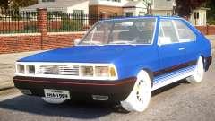 Volkswagen Passat Pointer GTS 1.8 1988 para GTA 4