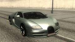 Bugatti Veyron Stock para GTA San Andreas